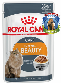 ROYAL CANIN INTENSE BEAUTY POUCH FELINE WET