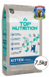 TOP NUTRITION GATITOS X7.5KG
