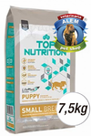 TOP NUTRITION CACHORROS RAZA PEQ. X 7.5 KG.