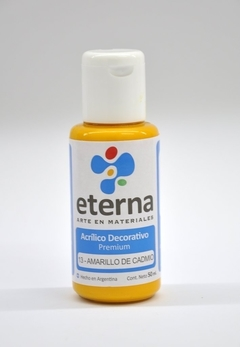 Acrilico Decorativo Eterna 50ml - 13 - Amarillo De Cadmio