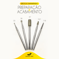 Kit Brocas Diamantadas