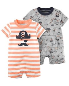 kit Rompers Carter´s Pirates