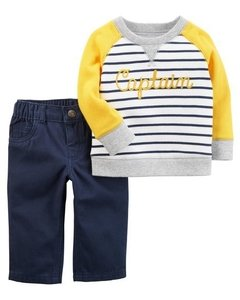 Conjunto Captain Carter´s