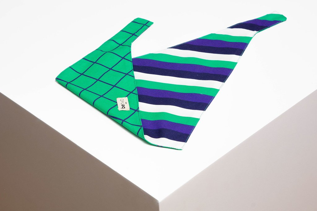 BANDANA WINDOWPANE VERDE