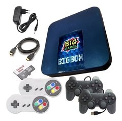 Video Game Retrobox 4 Controles - 12mil Jogos So Ligar Na Tv