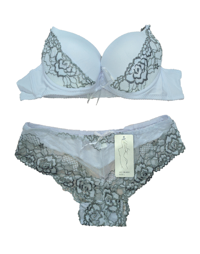 Imagem do KIT COM 12 CONJUNTOS - LINGERIE RENDA PUSH UP
