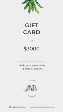 GIFT CARD VII