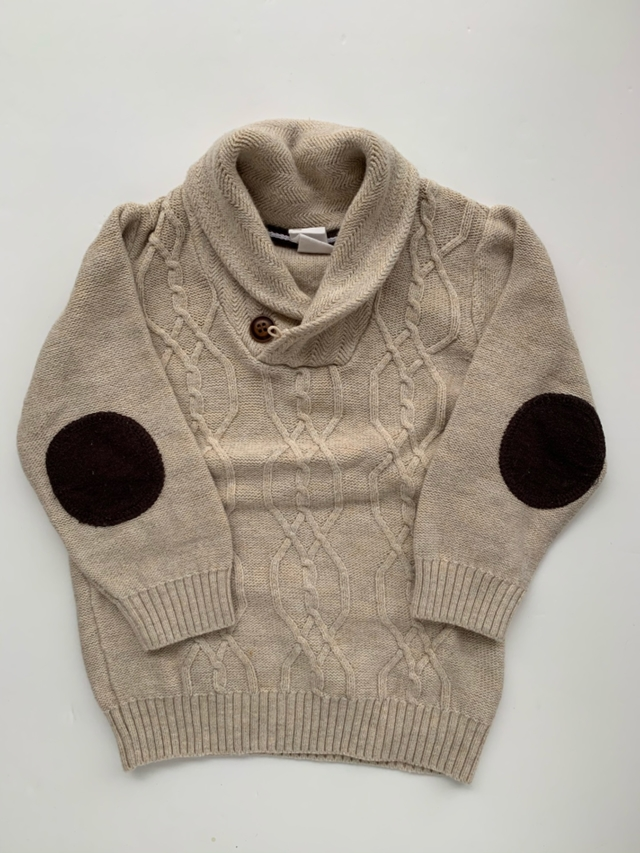 H&M - sweater de hilo (T:12-18M)