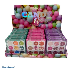 CS2884 X24 Display de paletas candy flower X24 UNIDADES - PINK 21