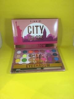 Paleta City Colors PINK 21 - CS2542 - Mibú Makeup
