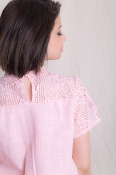 Blusa Genova Rosa on internet