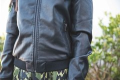 Campera Bomber Black