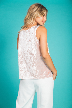 Musculosa Velvet Rose on internet