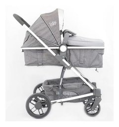 BABYONE TRAVEL SYSTEM 3 EN 1 MONTANA PLUS GRIS - Childs Especialistas en Bebes