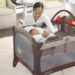 GRACO CUNA PACK N PLAY CON NAPPER REVERSIBLE FORECASTER 1812960 en internet