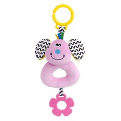 I CUTE Q TEETHER RATTLES MOUSE QT50017 +0M