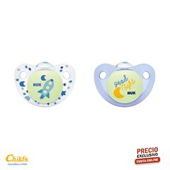 NUK SET DE 2 CHUPETES NIGHT & DAY TALLE 1 NENE N0730162