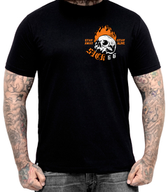 Camiseta Flame head