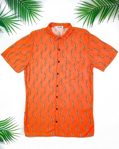 CAMISA RAMOS ORANGE (ESTAMPA EXCLUSIVA NO NAME)