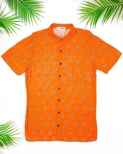 CAMISA EXCLUSIVA RAMOS ORANGE (PEQUENOS DEFEITOS)