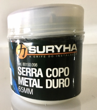 SERRA COPO METAL DURO 65MM (006994)