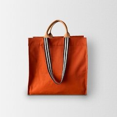 Bolsa Shopping Bag Terracota