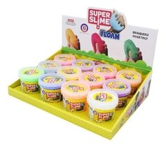 SUPER SLIME FLOAM DIVERSAS CORES
