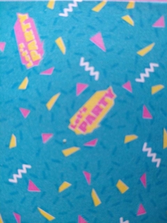 Papel PARTY 80 hojas bifaz. 15x15cm. Marca Daiso en internet