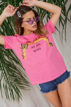 2839 Remera Estampada See You Never en internet