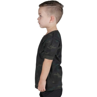 Camiseta Soldier Kids Bélica - Multicam Black