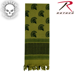 SHEMAGH TACTICO SPARTAN - VERDE OD