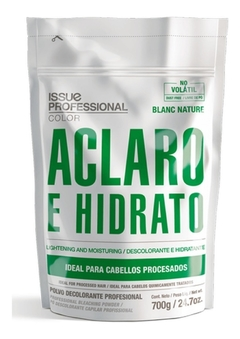 Polvo Decolorante Profesional Blanc Nature Issue 700gr