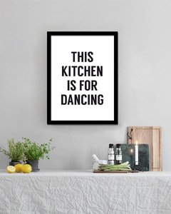 Cuadro This Kitchen is for Dancing
