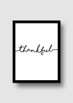 Cuadro Thankful en internet
