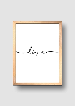 Trio Live Laugh Love - comprar online