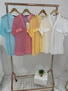 Camisa Chiffon Colors na internet