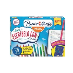 Pack Escribelo con color Paper Mate