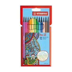 Marcadores Stabilo Pen 68 X12 1 Mm - Woopy