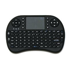 Mini Teclado Inalambrico Con Panel Táctil Para Smart Tv, notebook, consolas