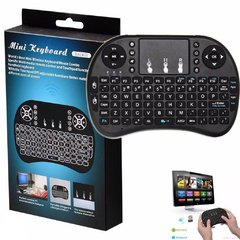 Mini Teclado Inalambrico Con Panel Táctil Para Smart Tv, notebook, consolas - comprar online