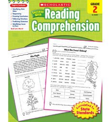 Scholastic Success With Reading Comprehension: Grade 2