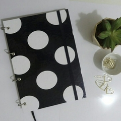 CADERNO ARGOLADO UNIVERSITÁRIO BIG DOTS - 1 MATÉRIA - FUNDAMENTAL