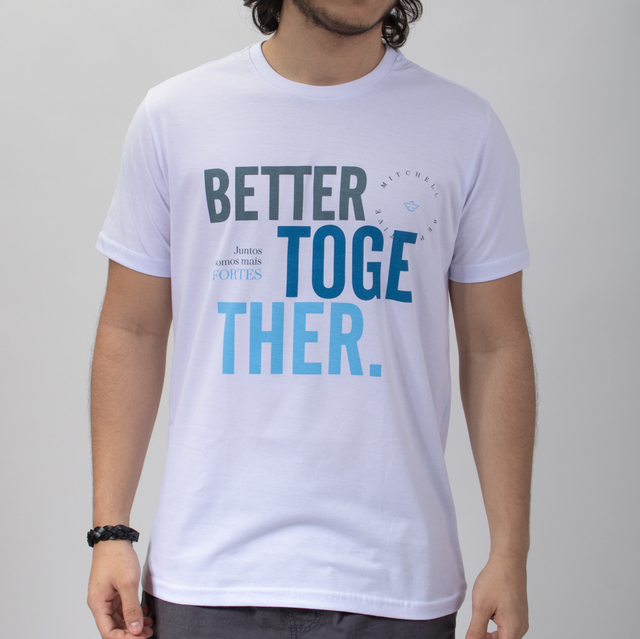 T-SHIRT BETTER TOGETHER - 01274