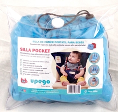 SILLA POCKET TURQUESA en internet