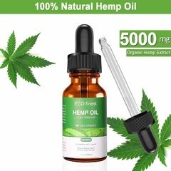 Hemp Oil Cânhamo 5.000mg 30ml Dor Muscular Insônia Ansiedade - Fábrica do Micropigmentador