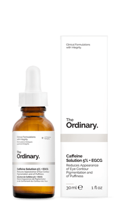 The Ordinary Caffeine Solution 5% + Egcg 30ml - Para os Olhos