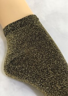 Glitter Socks Gold en internet