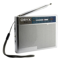 Radio Portatil Oryx Sp340 Fm/am 2 Bandas A Pilas