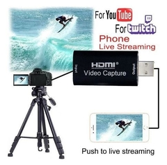Capturadora Hdmi Full Hd 1080p Streaming Win Android Mac en internet