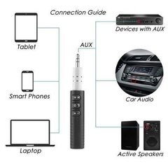 Receptor Bluetooth Music Manos Libres Mic Auto 3.5mm Bateria en internet